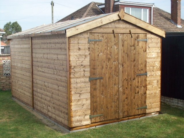 Apex Sheds made in Great Yarmouth, Norfolk